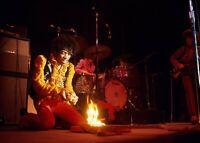 Jimi Hendrix Experience At Monterey Print 8 x 10