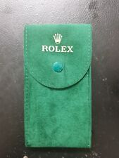 Authentic Rolex Green Pouch Travel Case Ref 50006036.64