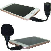 Mini Flexible Microphone 3.5mm TRS 3 Pole Laptop & TRRS 4 Pole Phone Jack Plug