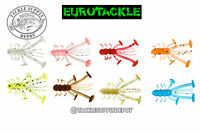 Eurotackle Ice Pan Fishing Bait Micro Finesse Crazy Critter 1.1in 8pk - Pick