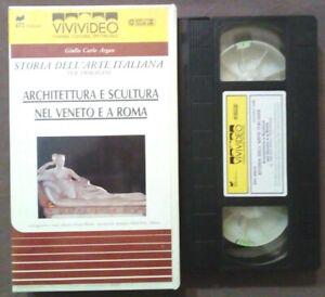 VHS Film Ita ARCHITETTURA E SCULTURA NEL VENETO E A ROMA Vivivideo no dvd cd(V49