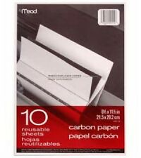 10 SHEETS CARBON PAPER FOR TYPEWRITER PENCIL BALLPOINT PEN INK