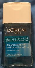 NEW Loreal Paris Gentle Eyes and Lips Express Makeup Waterproof Remover 125ml