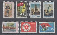 Turkish Northern Cyprus Sc 1-7 MNH. 1974 First issue, cplt set, scarce & VF.