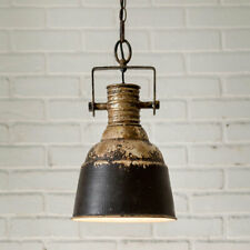 Industrial new small Hanging Pendant Light in Distressed Metal