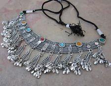Tribal Statement Choker Necklace Vintage Boho Gypsy Kuchi Afghan Fashion Jewelry