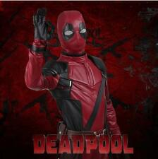 New Stlyle X-Men Deadpool Cosplay Mask Cos Accessories Faux Leather Halloween
