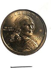 Sacajawea 2000 P ,One  Dollar 'Golden' US Coin Philadelphia Mint ☆☆☆Rare☆☆☆(1X)