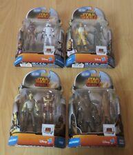 4 Star Wars Doppelpack Hasbro Figur Stormtrooper,Sabine Wren,Wookie,IG-RM,IG-88