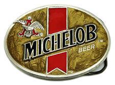 MICHELOB Birra Cintura Fibbia BUDWEISER Autentico Officially Licensed Product