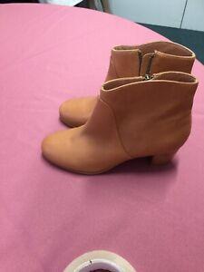 Marcs Tan Boots Size 38 Like New RRP $199