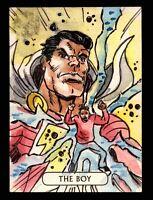 2016 DC Comics Justice League Artist Vinicius Moura Sketch Card Superman