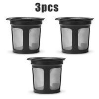 3X Reusable Refillable Single K-Cups Filter Pod System For Keurig Coffee Makers