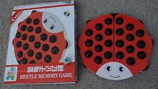 Pandaay Creative Wooden Lovely Ladybug Color Memory Training Chess-Dye Cracked