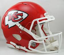 KANSAS CITY CHIEFS NFL Riddell SPEED Full Size AUTHENTIC Football Helmet