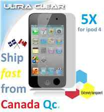 5X HD clear screen protector Apple ipod 4 ipod4 4th film guard Transparent