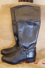 Smart Leather Long Boots, size 6.5