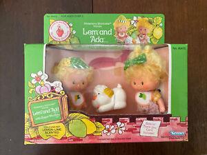 New NIB Vintage 1983 Strawberry Shortcake Lem And Ada Sugar Wolfer