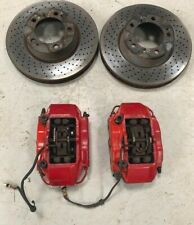 PORSCHE 996 BOXSTER 986 3.2S CAYMAN BREMBO FRONT BRAKE CALIPERS + DISCS + PADS