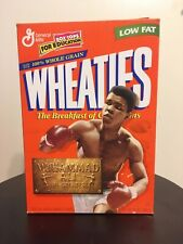 Vintage 1999 Muhammad Ali Wheaties Cereal Box (Good Condition)