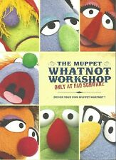 Fao Schwarz Muppet Whatnot Workshop Design Kit with Reusable Stickers ColorForm
