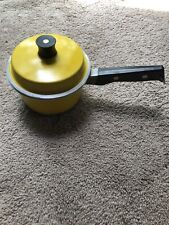 Vintage: Yellow Metal Graham Kerr Pot Pan With Lid
