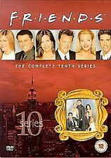 Friends - Series 10 - Complete (DVD, 2004, 3-Disc Set, Box Set) New and Sealed