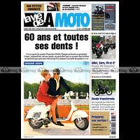LA VIE DE LA MOTO LVM N°447 ★ DOSSIER HISTOIRE DU SCOOTER VESPA 1946-2006 ★
