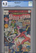 Spider-Woman #2 CGC 9.2 1978 Marvel Comics  Marv Wolfman Story