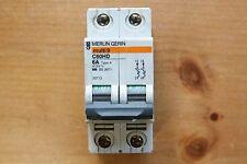 MERLIN GERIN MULTI 9 C60HD 6A TYPE 4, 2-POLE CIRCUIT BREAKER 415V