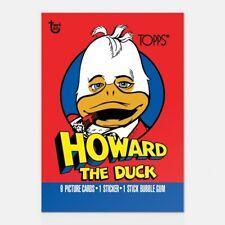 HOWARD THE DUCK TOPPS 80TH ANNIVERSARY WRAPPER ART CARD #47 #Topps #Marvel