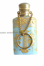 1800 FRENCH OPALINE SCENT BOTTLE REAL WORK OF ART FANTASTIC 1001