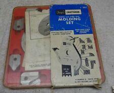 * Vintage - CRAFTSMAN Molding Set 3219 w 24 CUTTER Heads SET - looks unused * -