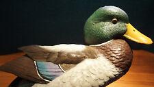 Stockente Ente Figur Roger Desjardins Nature's Window handbemalt signiert