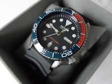 Ceramic Bezel Insert for Seiko SKX007 SKX009 dark blue orange colour seamaster