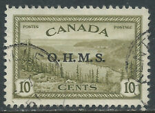 Canada #O6(1) 1946 10 cent GREAT BEAR LAKE OFFICIAL O.H.M.S  Used