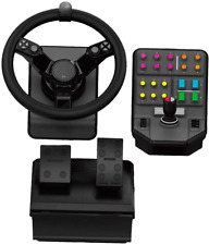 Logitech PS4 PC Gaming Steering Wheel  Bundle, Steering Wheel Controller NEW!!