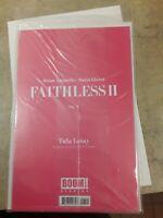 Faithless 2 II 1 Unopened Near Mint/Mint Boom Studios!