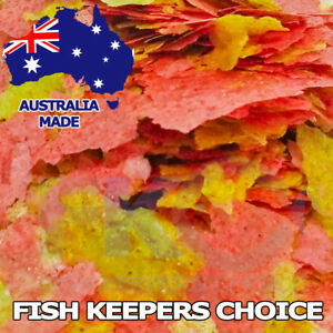 FKC Goldfish KOI Aquarium & Pond Flakes Fish Food Bulk Flake Feed AUSTRALIA MADE