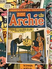 Archie #18 VG+ 4.5 golden age 1945 halloween cover MLJ magazine AMERICANA