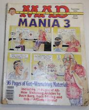 Mad Magazine Mania 3 September 1994 091814R
