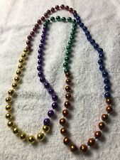 "New ListingMardi Gras 23"" Rainbow Beads New"