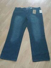 Markenlose Plusgröße Herren-Jeans aus Denim