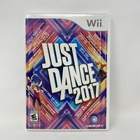 Just Dance 2017 (Nintendo Wii, 2016) Complete Tested Working