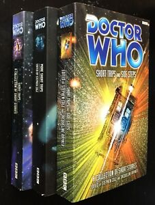 3x Doctor Who 'Short Trips' Short Story Anthologies, BBC Books, 1998-2000. FN/VF