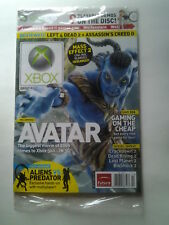Official Xbox Magazine Holiday 2009 Avatar Cover Sealed w/ Demo Disc