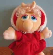 Vintage 1988 McDonalds Baby Miss Piggy Stuffed Animal 11 Inches