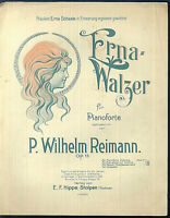 """P. Wilhelm Reimann : """" Erna-Walzer """"  ~ alt, übergroß"""