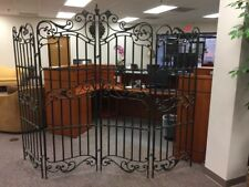 Decorative Wrought Iron Room Divider / Separator