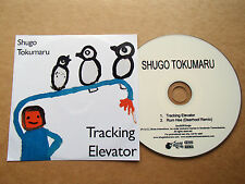 SHUGO TOKUMARU - TRACKING ELEVATOR - VERY RARE PROMO CD INC DEERHOOF REMIX